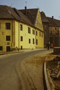Abriss und Neubau Burgstraße Merseburg