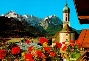 Alpspitze - Waxensteine - Zugspitze
