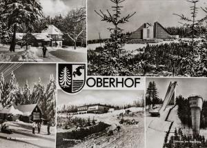 Obere Schweizerhütte, Schuderbachswiese,  , Interhotel panorama, Schanzenbaude, Schanze am Rennsteig