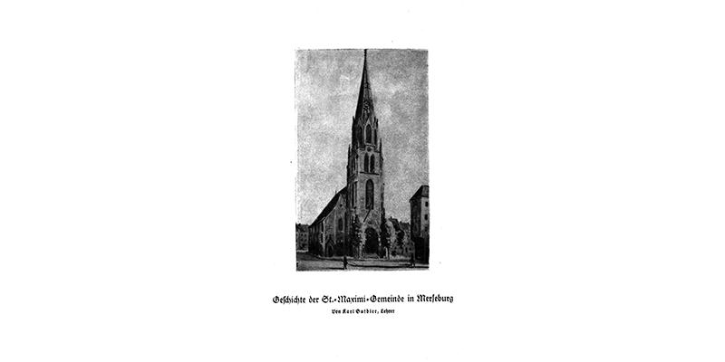 1947 – Geschichte der St – Maximi – Gemeinde in Merseburg1947 – Geschichte der St – Maximi – Gemeinde in Merseburg1947 – Geschichte der St – Maximi – Gemeinde in Merseburg