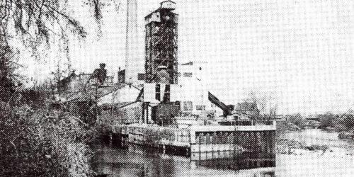 1985 - 100 Jahre Zellstoffproduktion in Merseburg