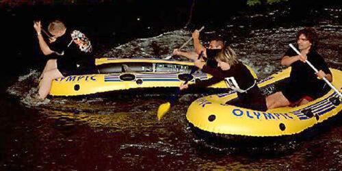 1. Hetschburger Schlauchbootrennen<br>am 03. 09. 2005