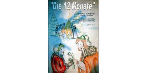 """Hetschburger Weihnachtsmärchenaufführung<br>""""Die 12 Monate"""" am 10. 12. 2005"""