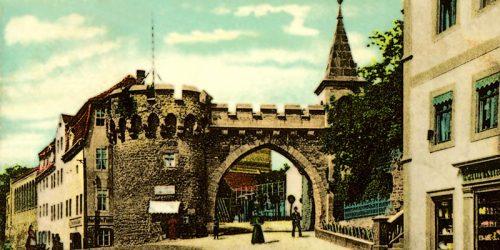 Sammlung alter Postkarten von Merseburg