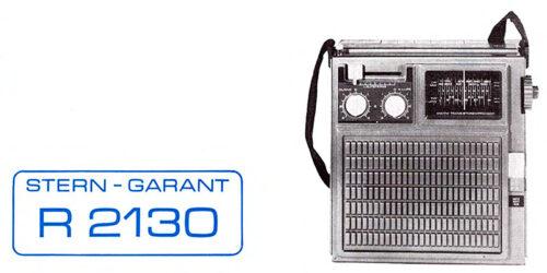 1979 - Bedienungsanleitung Stern-Garant R2130