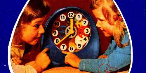 """1982 - Anleitung zur Montage und Demontage """"Mechanische Spielzeuguhr variant"""""""