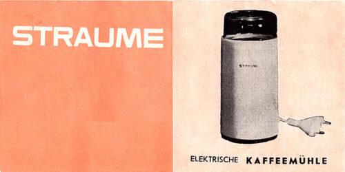 1980 - Bedienungsanleitung Elektrische Kaffeemühle