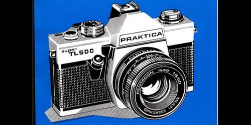 1980 - Bedienungsanleitung für die Kamera PRAKTICA super TL500