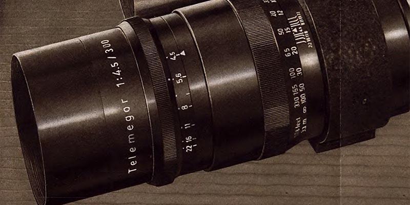 1958-Meyer - Objektiv Telemegor 300mm