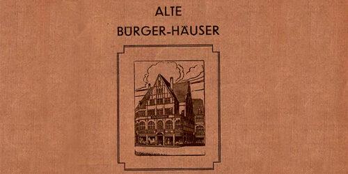 1939 - Alte Bürger - Häuser am Entenplan und in der Gotthardstasse