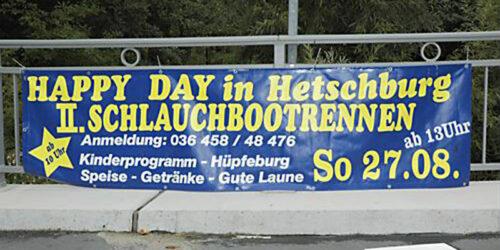 2. Hetschburger Schlauchbootrennen<br>am 27. 08. 2006