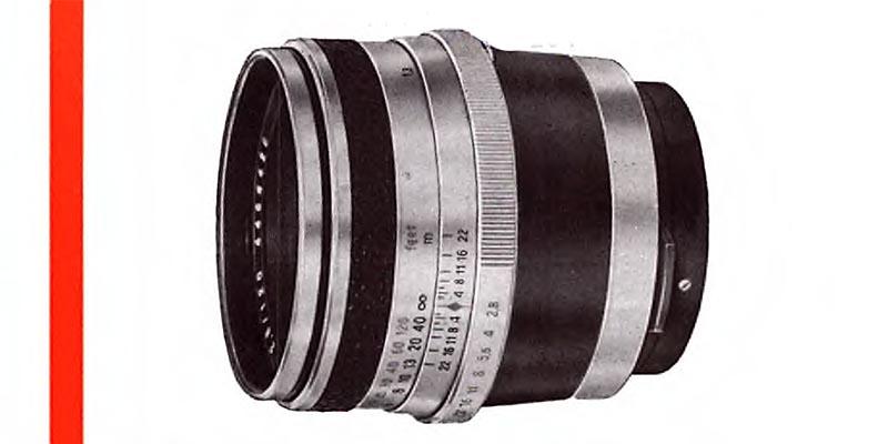 1958-Carl Zeiss Jena-Biometar 80 - 120mm