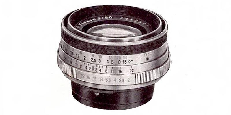 1958-Carl Zeiss Jena-FLEXON 50mm