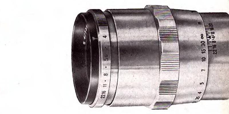 1958-Carl Zeiss Jena-SONNAR 135mm