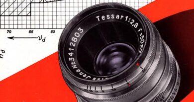 1958-Carl Zeiss Jena-The New Tessar 50mm