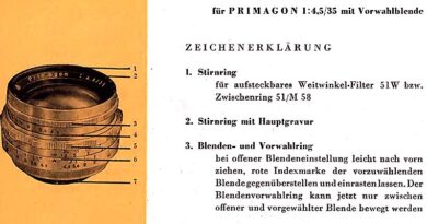 1958-MEYER OPTIK-Primagon 35mm