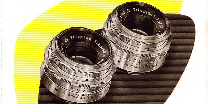 1958-Meyer - Optik-Trioplan 50mm