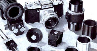 1958-PRAKTICA Zubehör