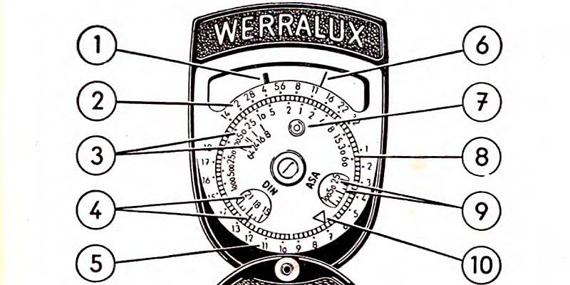 1958-VEB Feingerätewerk Weimar-Belichtungsmesser WERRALUX