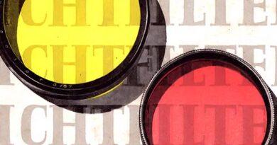 1958-VEB Filmfabrik Agfa Wolfen-Lichtfilterverzeichnis