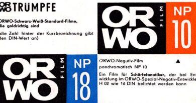 1963-ORWO Film - Ein Zeugnis schöpferischer Tradition