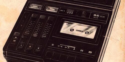 1981 - Serviceanleitung - Kassettenrecorder geracord