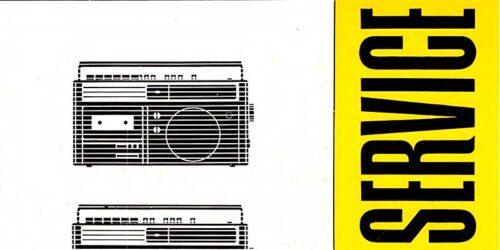 1983 - SERVICE KR650 und KR 660