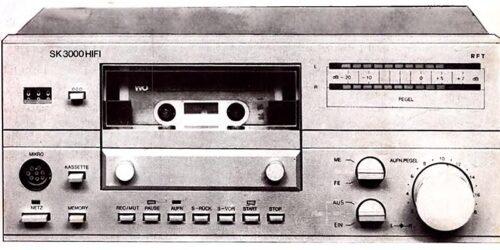 1983 - Service-Anleitung - SK-3000 - HIFI - 1812.6 - 000.00