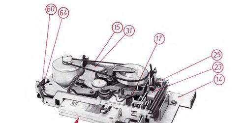 1985 - Service - Anleitung Auto - Stereo Kassettenabspielgerät RA 8001