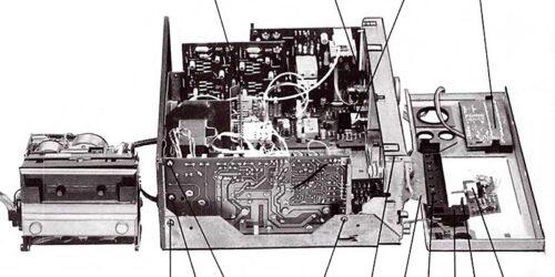 1986 - Service - Anleitung - SK 3000 1812.6-000.00 und SK 3900 1812.8-000.00