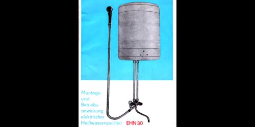 1981 - Heisswasserspeicher EHN30