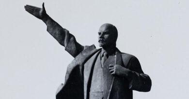1971 – Das Lenin – Denkmal in Merseburg