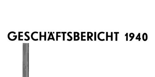 1941 - Geschäftsbericht 1940 Merseburger Baugesellschaft