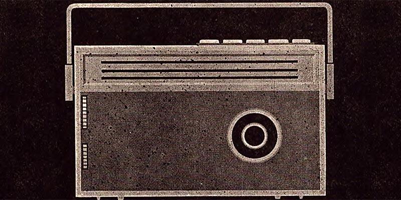 1964-Information Reiseempfänger R 111