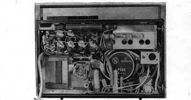1965-Information Reiseempfänger R110 - vagant und stern 6 Variante Orient