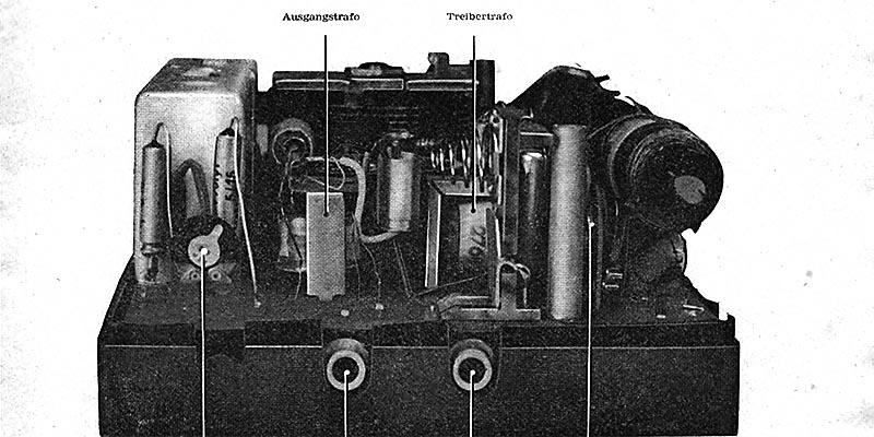 1965-Information Taschenempfänger T 102