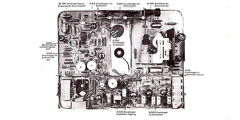 1967-Fernsehtischgerät Donja 1201, 1201-2, 1401, 1501