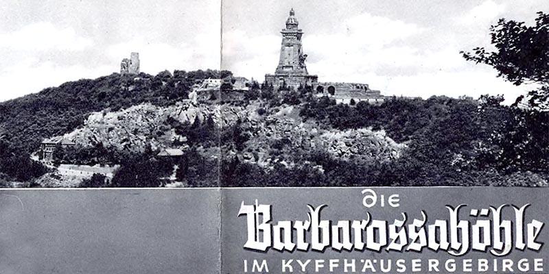 1971 - Kyffhäusergebirge - Barbarossahöhle