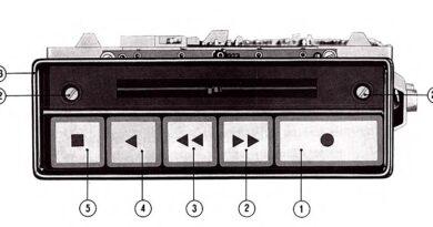 1976-Service - Anleitung Auto - Kassetten - Recorder AK75