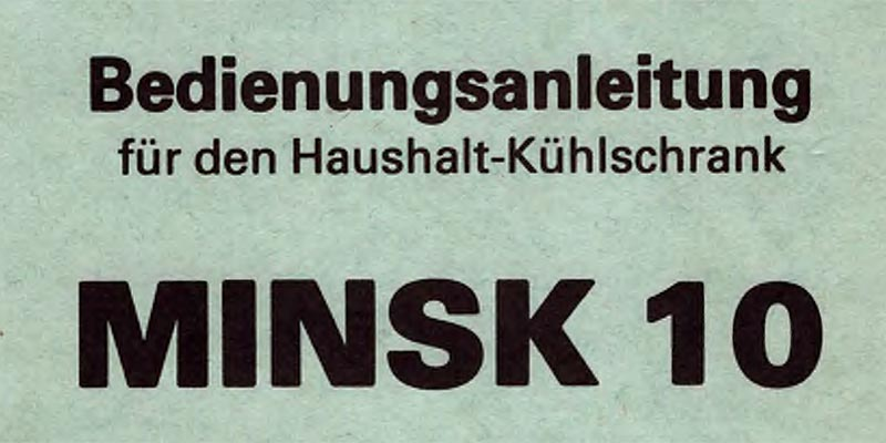 1980-Haushaltskühlschrank Minsk 10