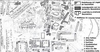 1982-Merseburg-Umgestaltung des Stadtzentrums