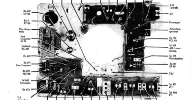 1985-Fernsehtischgerät Dürer de luxe 14-F