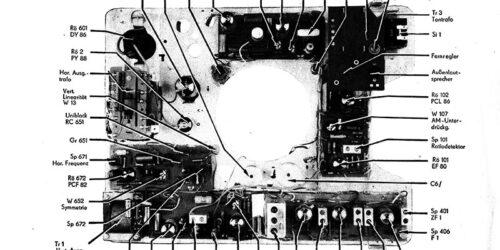 1985 - Fernsehtischgerät Dürer de luxe 14