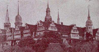 1930ca-Faltprospekt Merseburg