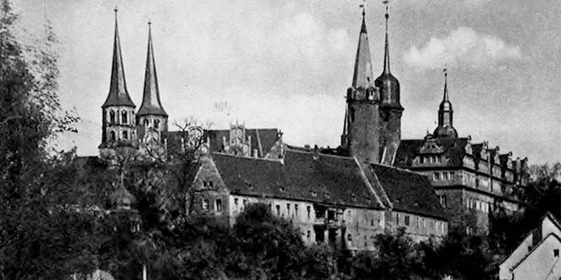 1938-Deutschland Bilderheft-Merseburg die alte Domstadt