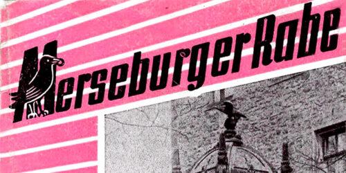 1955 - Veranstaltungsplan Merseburg
