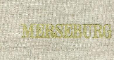 1979 - Merseburg - 10 Reproduktionen der Stiche um 1830