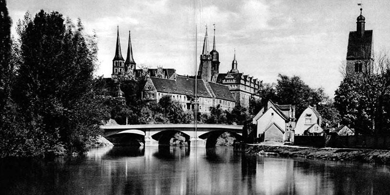 Faltprospekt Merseburg mit Stadtrundgang und Stadtplan