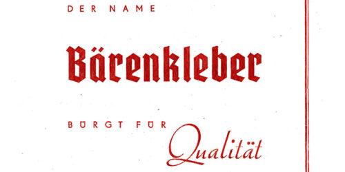 1950 - Sächsische Klebstoffwerke - Bärenkleber