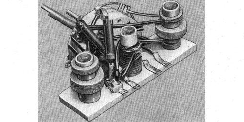 1951 - Prospekt Audion - Spulensatz Form EZs 0102